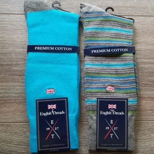 Other - 2 Pair NWT Mens Sock Assortment